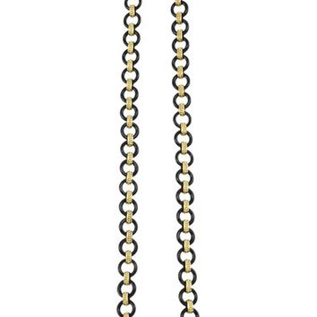 LAGOS 'Caviar Gold' Gold Link Necklace | Nordstrom