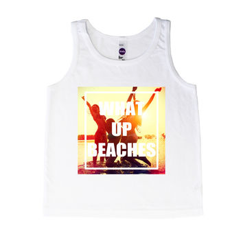 What Up Beaches - Tank