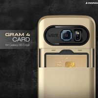 INGRAM Gram 4 Card Case for Samsung Galaxy S6 Edge