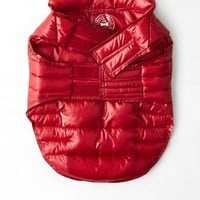 AEO Women's American Beagle Outfitters Puffer Jacket (Red)