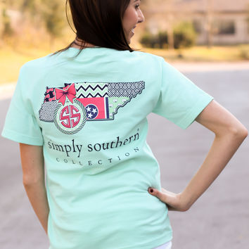Simply Southern Tee - Tennessee
