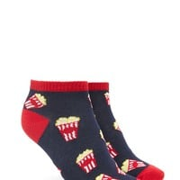 Popcorn Ankle Socks