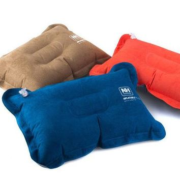 LONMF Naturehike New Arrival Inflatable Pillow Travelling Pillow comfortable JPRZ01