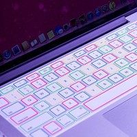 XSKN Night Luminous Silicone Laptop Keyboard Skin Cover for Macbook Air 13, Macbook Pro 13 15 inch, US Layout