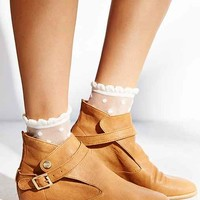 House Of Harlow Leather Hollie Boot- Tan