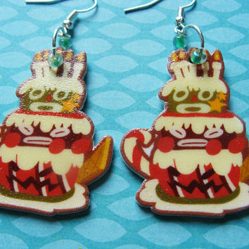 Bundt - Super Mario RPG Cake - Earrings