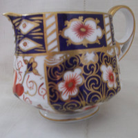 Royal Crown Derby Imari 2451 antique milk jug cream jug creamer dated 1901. Collector's gift idea