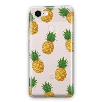 Pineapple Overload Google Pixel 3 Clear Case