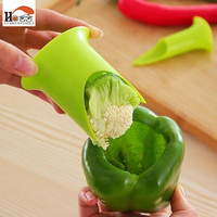 CUSHAWFAMILY 2 pcs Nordic Creative Kitchen gadgets chili tomato corers fruit&vegetable pepper corer home&restaurant cooking Tool