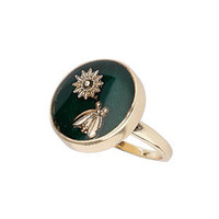 Daisy and Bug Ring - Jewelry  - Bags & Accessories
