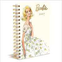 16 Month Agenda Planner for 2017. BARBIE™ 2017 Calendar.