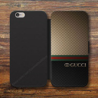 Rere! GUCCI87S9 Wallet iPhone 8/7/6S Plus X 5S Samsung S9 S8 S7 S6 Note cases
