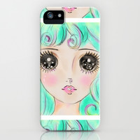 pastel mermaid iPhone & iPod Case by Sara Eshak