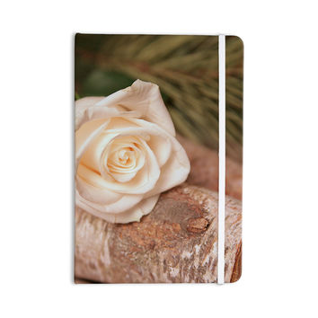 "Angie Turner ""Rustic Romance "" White Green Everything Notebook"