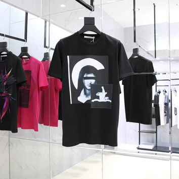 givenchy 2018ss Virgin Mary t shirt ★ 011