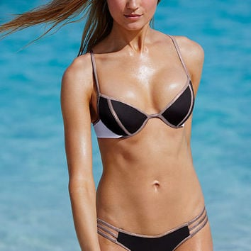 The Colorblock Fabulous Top - Victoria's Secret Swim - Victoria's Secret