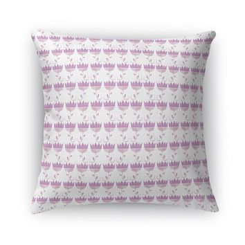 ENDLESS FLOWER ROWS Accent Pillow By Heidi Miller