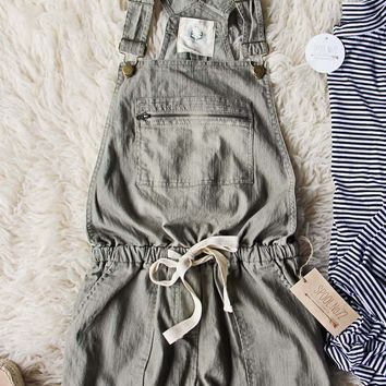 Heirloom Overalls in Olive