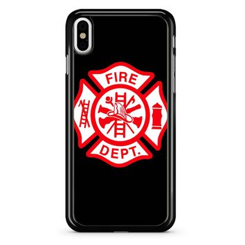 Chicago Fire Department iPhone X Case