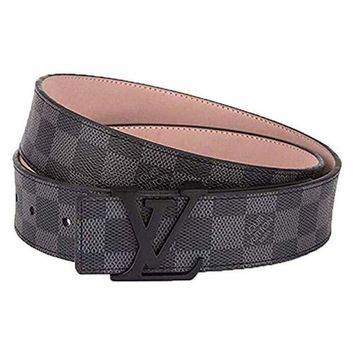 DCCK Fashion leather metal buckle belt