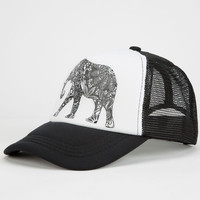 Elephant Womens Trucker Hat | Hats