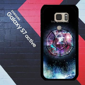 Sacred Geometry The Universe L1285 Samsung Galaxy S7 Active Case