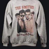 THE SMITHS INDIE ROCK FESTIVAL SWEATSHIRT UNISEX JUMPER GREY MEDIUM M