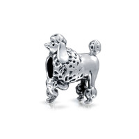 Bling Jewelry Prancing Poodle Bead