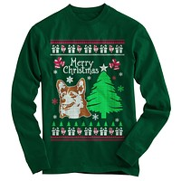 Corgi Ugly Christmas Sweater
