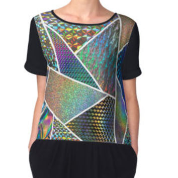 'Holographic' Graphic T-Shirt by sunlightjay