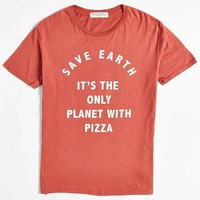 Project Social T Save Earth Pizza Tee