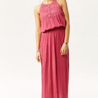 PERUVIAN MAXI DRESS