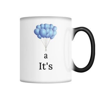 IT'S A BOY!  Color Changing Mug