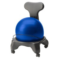 GAIAM Blue Ergonomic Balance Ball Chair