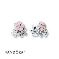 PANDORA Earrings Poetic Blooms Sterling Silver