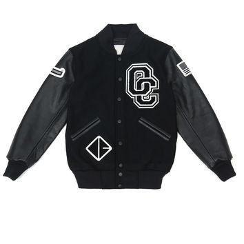 Opening Ceremony OC-Exclusive Varsity Long Jacket - WOMEN - Outerwear - Opening Ceremony