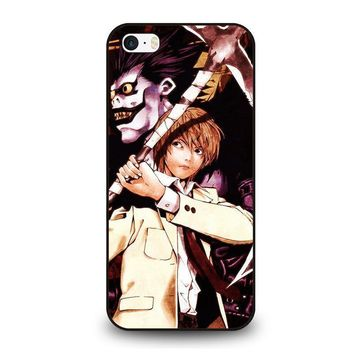 death note ryuk and light iphone se case cover  number 1
