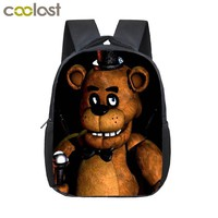 At Backpack Children School Bags Backpack Kids  Kindergarten Bag Freddy Fazbear Bear Backpacks