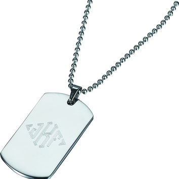 Visol Gaston Stainless Steel Pendant Necklace