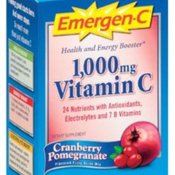Alacer Emergen-C Cranberry Pomegranate 10 pac