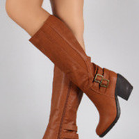 Women's Elastic Gores Classic Riding Boot