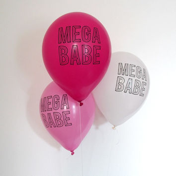 Mega Babe Party Balloons