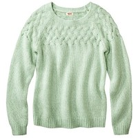 Mossimo Supply Co. Juniors Long Sleeve Cable Sweater - Assorted Colors