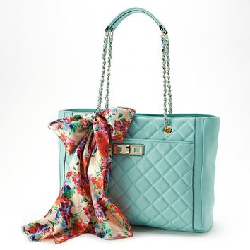 Apt. 9 Jane Quilted Shopper & Scarf