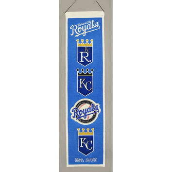 Kansas City Royals MLB Heritage Banner (8x32)