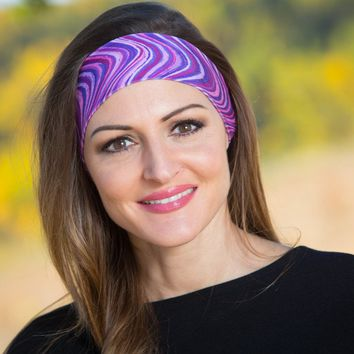 Purple People Pleaser Headband