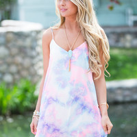 On Cloud Nine Colorful Dress