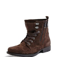 Jack Lace-Up Boots | GUESS.com
