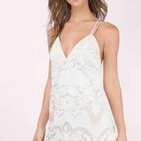 Sunset Lace Shift Dress