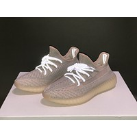 "Adidas Yeezy Boost 350 V2 boost ""SYNTH"" Sneakers Running Sport Shoes Static Refective Shoes"